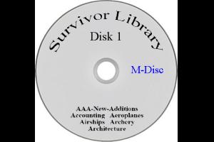 Survivor Library Blu-ray M-Discs